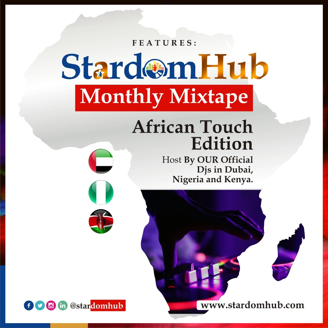 Feature on StardomHub Monthly MiX